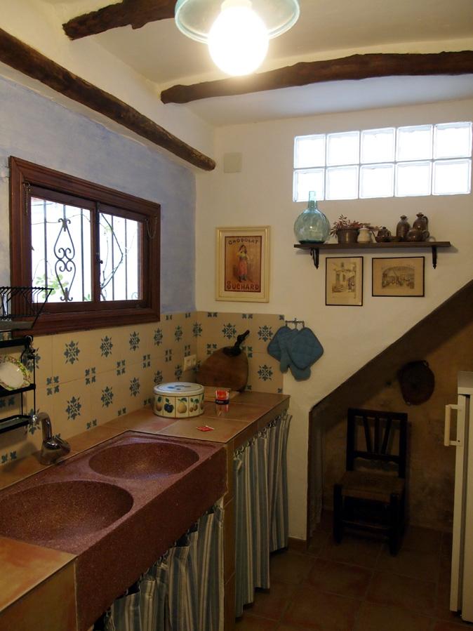 Cocina y ba os casa rural el velador - Cocina casa rural ...